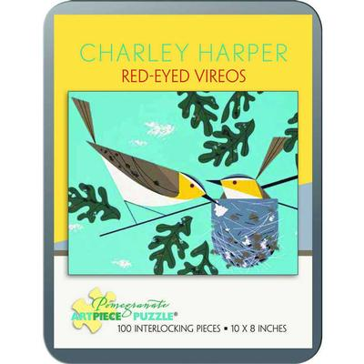 Red-Eyed Vireos 100 Piece Puzzle