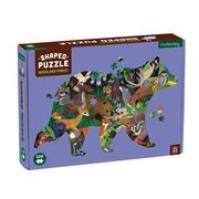 Woodland Forest Shaped Puzzle