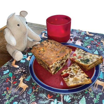 Traditional Holiday Fruitcake