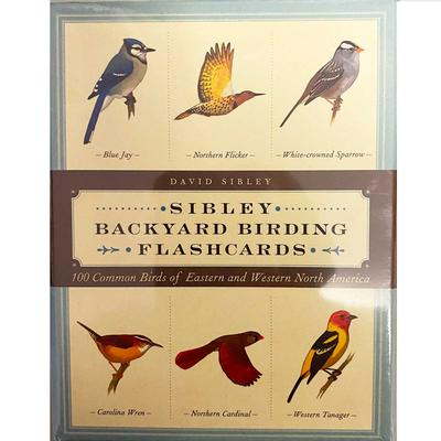 Sibley Backyard Birding Flashcards