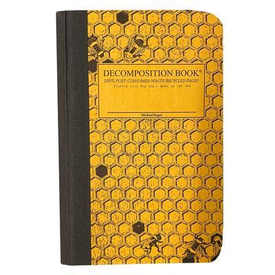 Decomposition Pocket Notebook Honeycomb