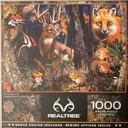 Forest Gathering 1000 Piece Puzzle