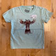 Flower Crown Moose Infant Tee