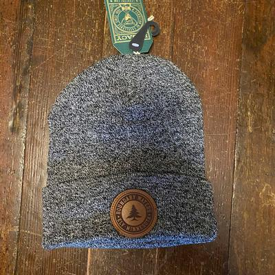 BW Knit Hat Marled Black