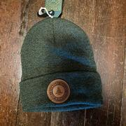 Olive Bw Knit Hat