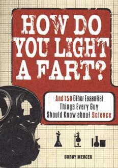 How Do You Light A Fart ?