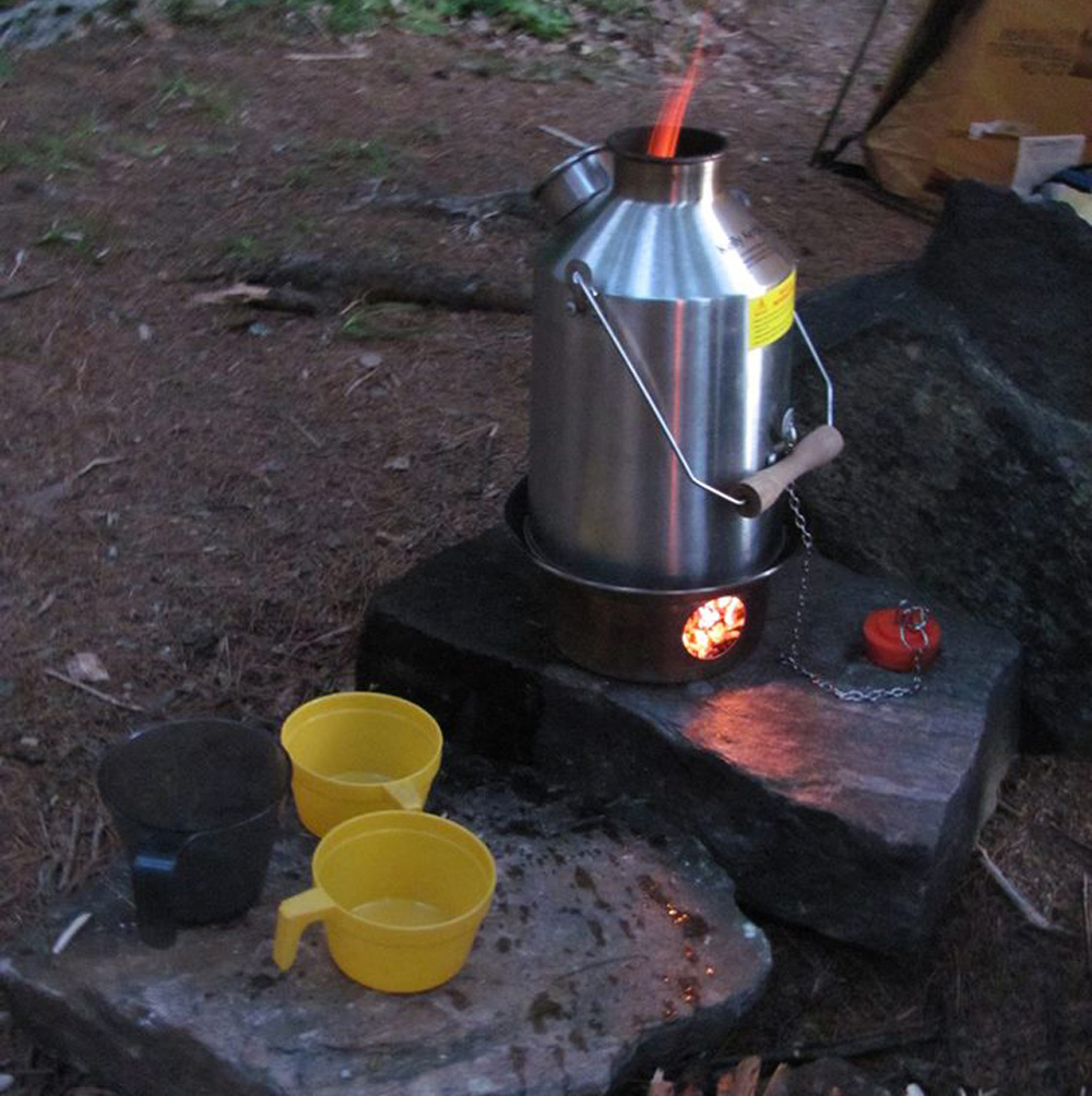 Kelly Kettle Scout Kit Camp Cooking Stove Boundary