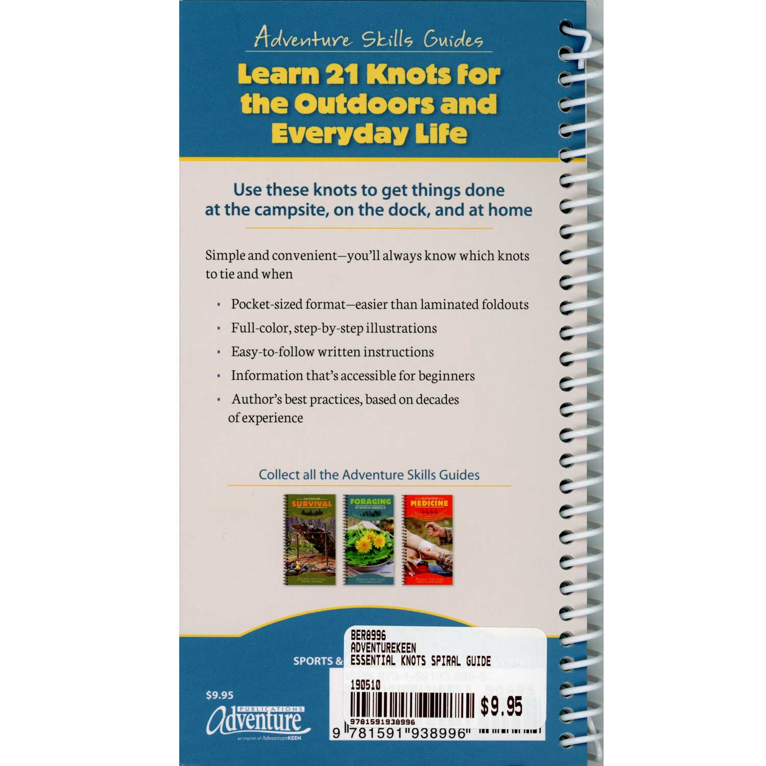 Essential Knots : Secure You Gear When Camping, Hiking, Fishing, And  Playing Outdoors By Karen Berger | Boundary Waters Catalog