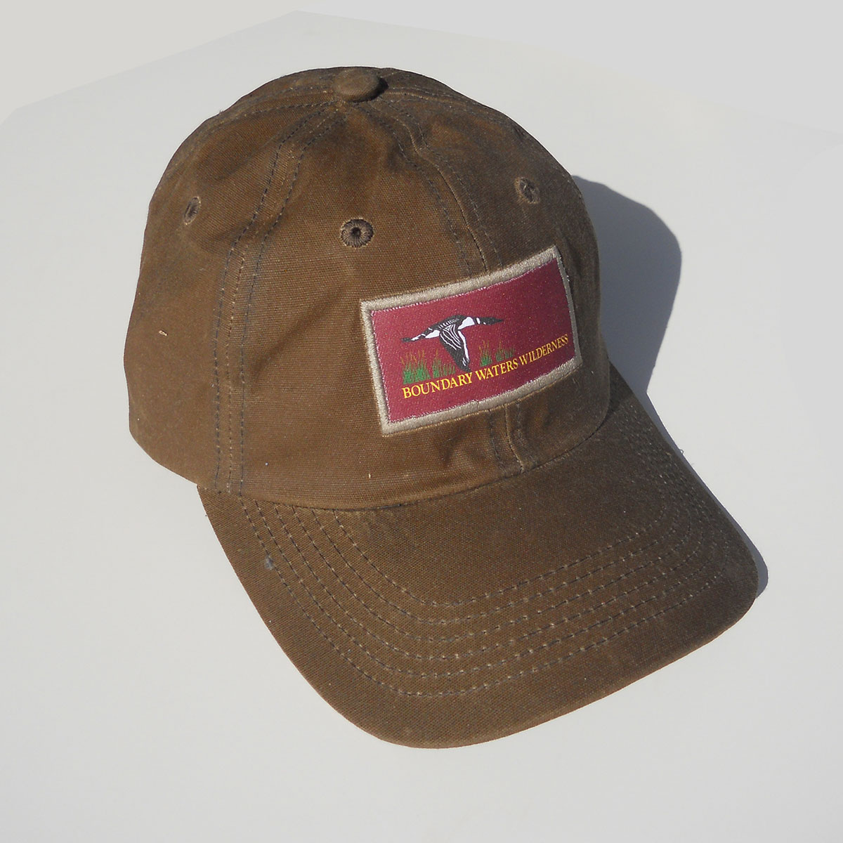 Piragis Signature Cap Waxed Cotton Hat Boundary Waters