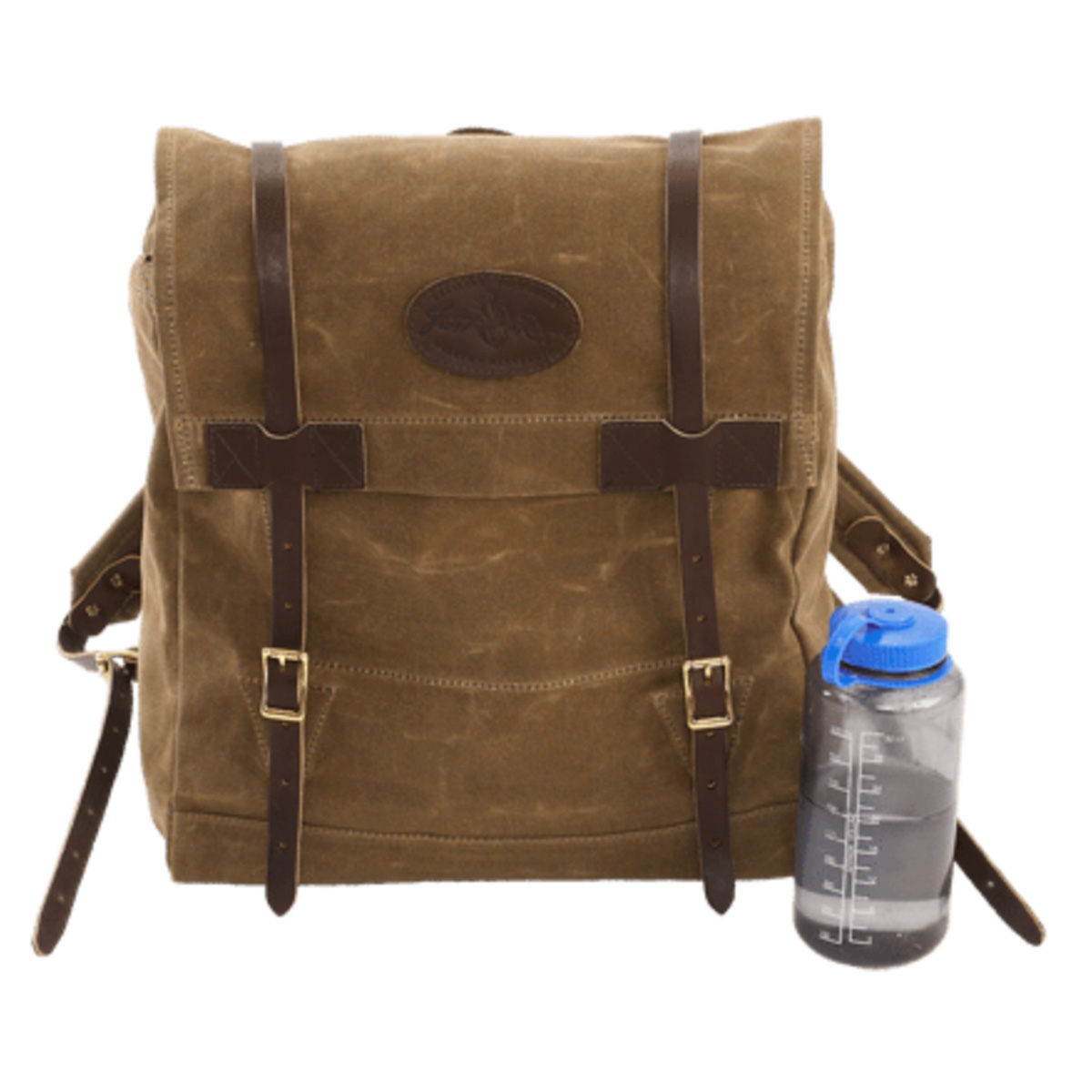Vintage Pack By Frost River Waxed Canvas Boundary Waters